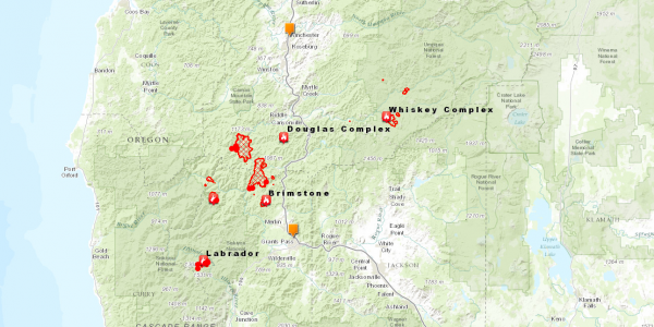 Responding to the Southern Oregon Wildfires