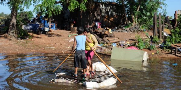 Aid Bound for Paraguay Flood Survivors