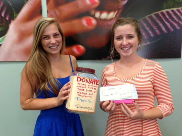 Rachel and Laurel helped led a campaign to help bring more babies into this world safely.