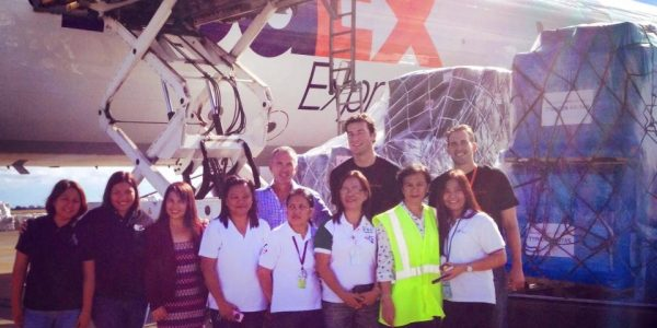 Largest Shipment in Direct Relief History Arrives in the Philippines