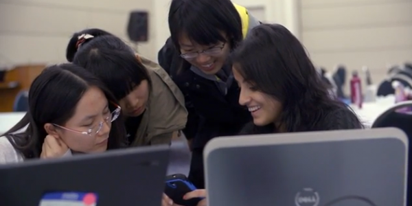 Coding for a Cause: Women's Hackathon Teams Simulate Disaster Response