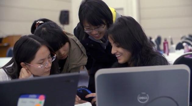 womens hackathon screenshot